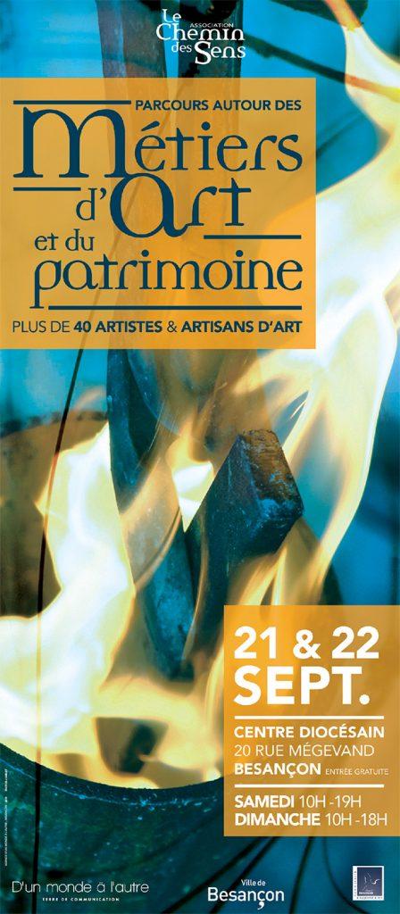 PARCOURS AUTOUR DES METIERS D'ART et du patrimoine