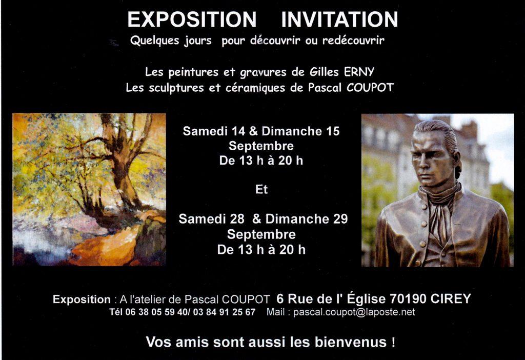 Expo Gilles Erny et Pascal Coupot