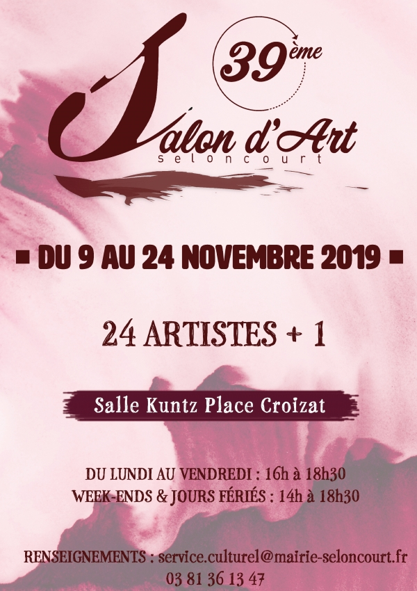 39e Salon d'Art de Seloncourt