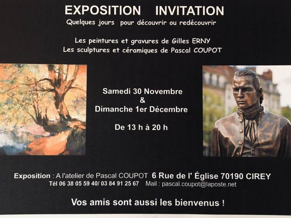 Gilles Erny et Pascal Coupot